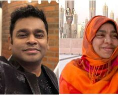 Kailash Kher remembers AR Rahman's mother as 'kindness personified'