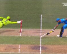 Adelaide Strikers batsman gets run out twice in one ball; watch video