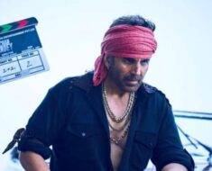 Akshay Kumar drops his first look as gangster in Bachchan Pandey