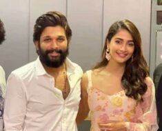 Allu Arjun calls Pooja Hegde his 'good luck charm' on Ala Vaikunthapurramuloo reunion