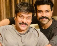 Chiranjeevi, son Ram Charan to share screen space in Acharya for the first time ever