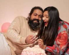 Yash's wife Radhika Pandit's adorable note for KGF actor