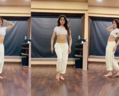 Janhvi Kapoor leaves us 'San Sanana' with her belly dancing moves. Bebo, have you seen it yet?