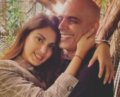 Rhea Chakraborty spends quality time with Roadies fame Rajiv Lakshman