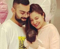 Anushka Sharma-Virat Kohli share first glimpse of baby daughter, Vamika