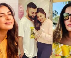 Anushka-Virat share picture of baby Vamika; Rakulpreet, Nargis & other Bollywood celebs extend wishe