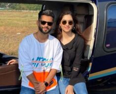 Rahul Vaidya, girlfriend Disha Parmar jet off for a vacation