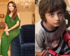 Gauri Khan shares adorable pic of son AbRam wearing boxing