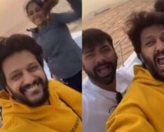Riteish Deshmukh, Genelia wake up fans with quirky dance video on yatch