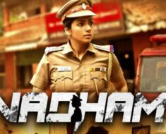 Sruthi Hariharan on her action cop avatar in Tamil web series 'Vadham'