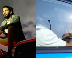 Dulquer Salmaan stopped by police for driving on wrong side, asked to return