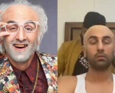 How Ranbir Kapoor turned into a quirky old man