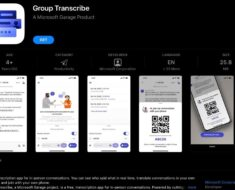 Microsoft Group Transcribe Is a New Garage App That Offers Real-Time Translation for Multiple Users
