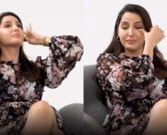 Nora Fatehi breaks down into tears while recalling her struggles in Bollywood. Watch video