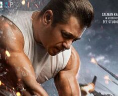 Salman Khan in action mode on first Radhe poster