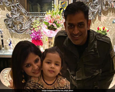 MS Dhoni Captured With Daughter Ziva In Vibrant Photographs. See Pics