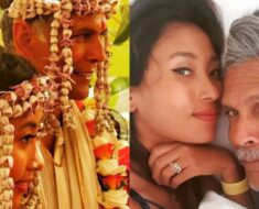 Milind Soman's adorable wish for wife Ankita on wedding anniversary, 'sweet heart that makes me smil