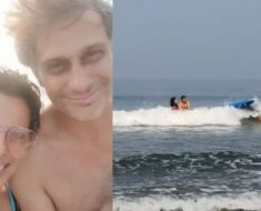 Pooja Bedi advocates living life without fear, shares 'joys of being in Goa' with fiance Maneck