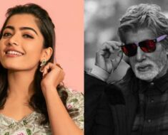 Rashmika Mandanna thought it was a prank on being told she'll work with Amitabh Bachchan