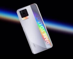 """Realme 8 5G Alleged Image Surfaces on Peruvian Certification Platform, Shows """"Dare to Leap"""" Holographic Branding"""