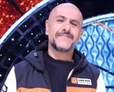 Vishal Dadlani gets his first shot of Covid vaccine