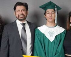 Madhuri Dixit posts family pic as son Arin graduates from high school: 'Proud moment for Ram and I'