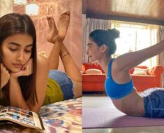 Pooja Hegde indulges in yoga and reads books as she recovers from COVID-19