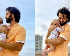 Nakuul Mehta pens inspiring message as he shares pics with son Sufi; quotes Khalil Gibran